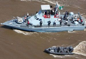 image: Nigeria Niger Delta Avengers MEND NDLF oil tankers vessels piracy Control Risks Maritime Analysis