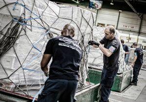 image: Italy air freight cargo ATA Italia WFS handling