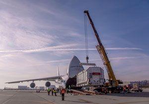 image: Volga Dnepr air freight Bollore logistics Mars ExoMars