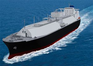 image: Japan India bulk ocean container shipping logistics LNG traders MOL vessel ship carriers