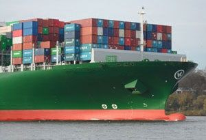 image: Evergreen contain shipping line freight South East Asia service