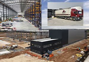image: Ceva logistics supply chain iPort intermodal park