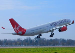 image: Virgin Atlantic Cargo air freight road haulage shipping line Heathrow Mumbai