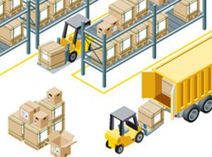 image: Access Group IT supply chain logistics manufacturing stock held warehouse management