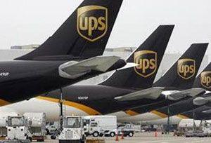image: US Louisville UPS strike centre United Parcel Service UPS pilots IPA logistics air freight