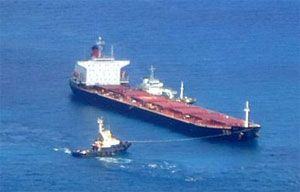 image: Australia bulk carrier cargo tonnes