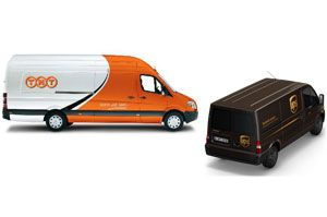 image: US European Commission TNT UPS express freight and logistics