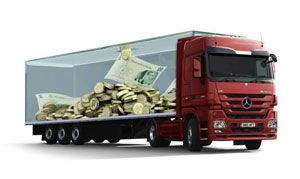 image: Mercedes BenzDaimler Artic Actros Axor tractor freight shipping truck commercial vehicle fleet hire