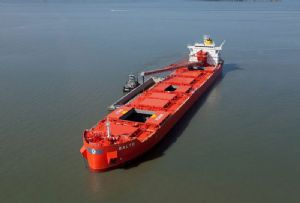 image: Canada, CSL, steamship, self-unloading, vessel, ship, K+S, Windsor, salt,
