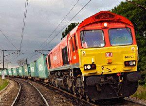image: London new age freight rail logistics Schenker Japan UK port Gateway