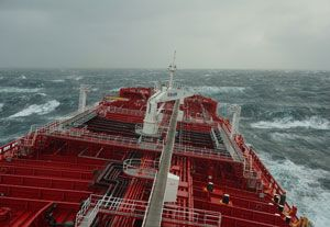 image: Korea Russia Arctic Stena Polaris container freight bulk tanker shipping North East Passage
