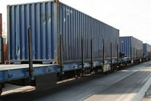 image: Germany CIS intermodal transport freight container logistics
