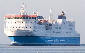 image: Northlink freight ferry RoRo Shetland Orkney