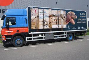image: US Netherlands Tyrannosaurus Rex Amsterdam Leiden air freight logistics Jan de Rijk Schiphol KLM