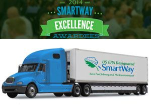 image: US Environmental Protection Agency (EPA) SmartWay road haulage trucking multimodal supply chain freight carriers American Trucking Associations
