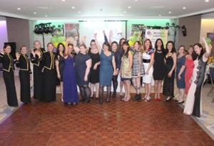 image: UK women logistics awards road haulage freight drivers Transaid transport charity ball