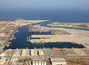 image: Abu Dhabi Port strategy shipping management forum supply chain infrastructure