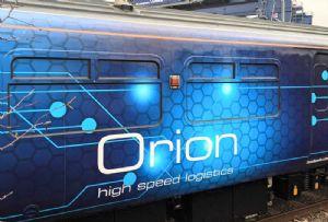image: UK, Network Rail, Orion, parcel, urban, deliveries, intermodal, rail, freight,
