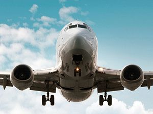 image: Australia Qantas air freight express road haulage logistics