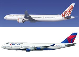 image: Virgin Atlantic Delta airlines air freight cargo handling merger EU commission