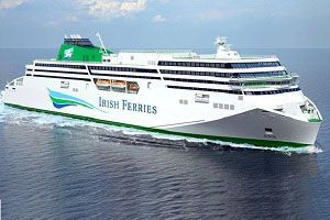image: Ireland Irish Ferries naming competition freight passenger ferry