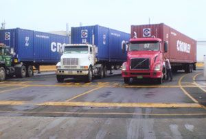 image: US Crowley road haulage freight logistics Department of Defence Awards