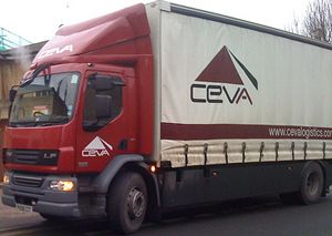 image: UK road haulage supply chain logistics ocean freight CEVA