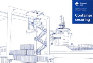 image: UK, Standard Club, insurer, container, lashing, Health and Safety, maritime, ships, crew, dockers, lightermen,