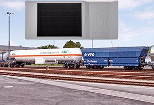 image: Switzerland data logistics tracking assets rail freight wagon blockchain Nexiot VTG AG