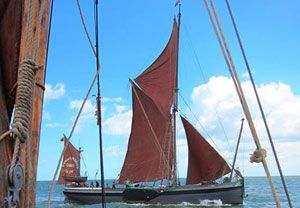 image: UK P&I Club Totally Thames sailing barge race parade shipowners� vessel specialist