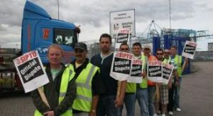 image: Ireland, Dublin, Marine Terminals Ltd, strike, industrial action, dockers, MTL, Peel Ports