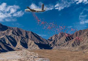 image: US Predator drones Angel One delivery vehicle war zone bombs General Atomics Aeronautical Systems (GA ASI)