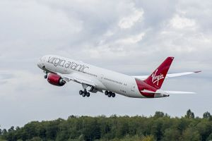 image: UK US Virgin Atlantic Cargo air freight Seattle London