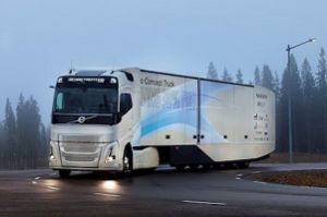 image: Sweden hybrid freight vehicle truck Volvo concept