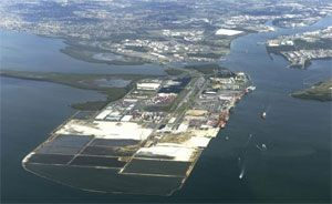 image: Queensland rail freight coal terminal