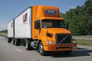image: YRC trucking less than truck load