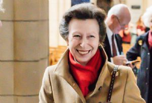 image: UK Princess Royal Anne Chamber of Shipping Transaid Logistics kidnap shot