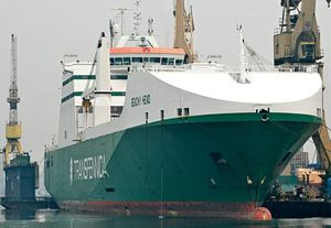 image: Sweden UK freight RoRo ferry