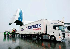 image: Schenker cargo modes freight export logistics