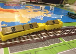 image: UK logistics multimodal container freight Business on the Move board game MSC schools educate
