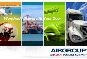 image: US logistics air ocean freight 3PL