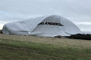 image: UK Airlander 10 airship blimp freight passenger crash