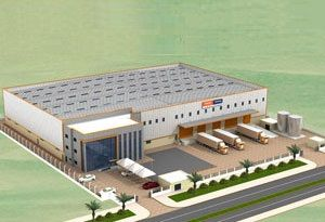 image: Dubai Menon Weiss-R�hlig logistics terminal freight maritime centre shipping TEU