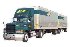 image: US truck freight LTL logistics