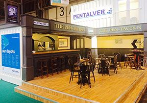 image: Pentalver UK Multimodal Exhibition Pen Tavern container conversion transport logistics
