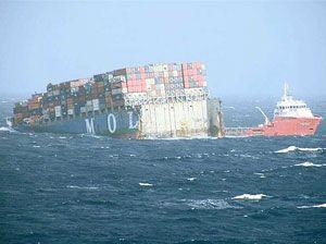 image: Europe Japan Haiyan multimodal logistics bulk freight container shipping energy MOL Menlo