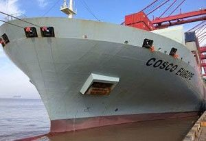 image: Norway Jotun antifouling fuel savings COSCO TEU container ship