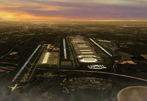 image: UK London Heathrow air freight cargo infrastructure double expansion Transport Association FTA Forwarders