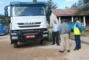 image: UK freight distribution truck driver instructors Tanzania death toll