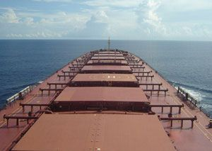 image: Greece post panamax dry freight bulk carrier vessel charter fleet